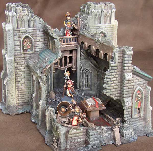 Image result for mordheim terrain