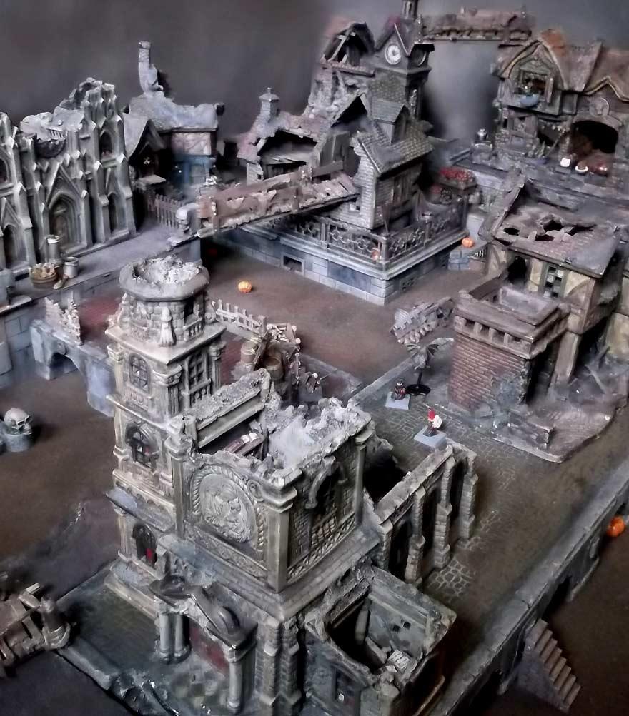 Mordheim terrain for Architecture models for sale