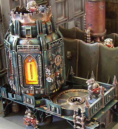Iron Hands: STC - Plasma Tower