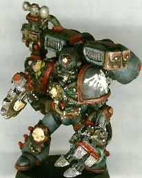 High Mobility Characters Are Very Popular In Our Marine Campaign Thus This Techmarine Conversion Currently Employed By The Raven Guard