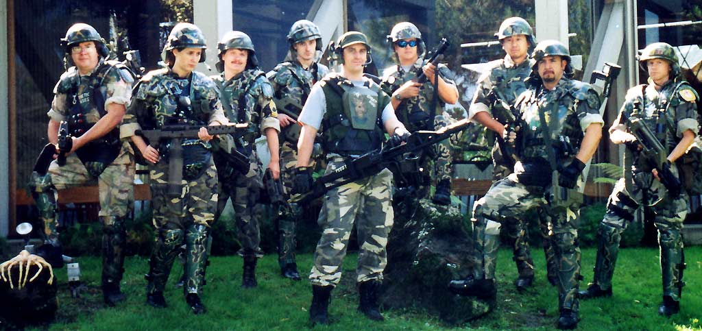 COLONIAL MARINES IN FORCE- SILICON 2001 & The Imperial Armory- Other Costumes