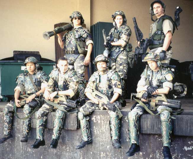 COLONIAL MARINES SECURE THE DOUBLETREE OUTPOST ON PORT SAN JOSE- MAY 2001 & The Imperial Armory- Other Costumes