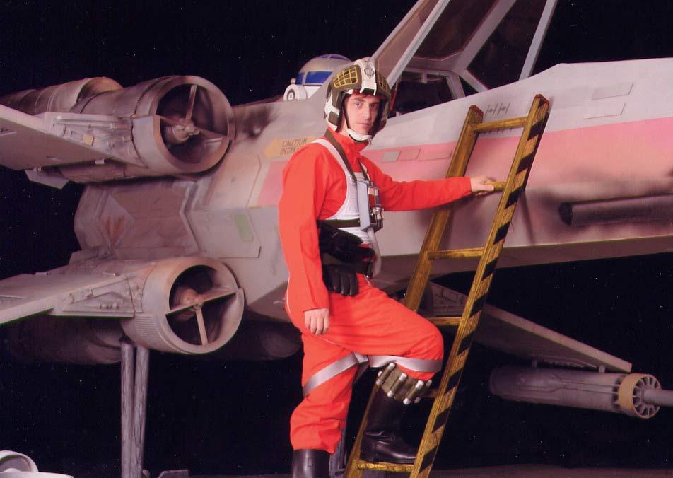 Star Wars X Wing Cockpit. a quot;fullquot; size X-Wing!